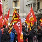 Anunci del calendari conjunt de mobilitzacions del sector públic de la Generalitat