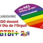 CCOO de Catalunya commemora el Dia de l'Orgull LGTBI+